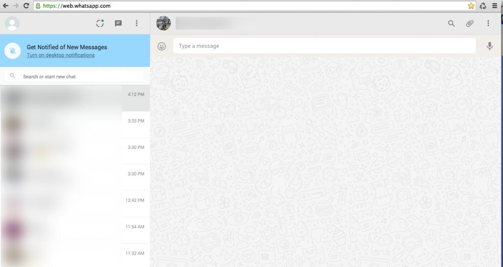 Web Whatsapp getting Worse
