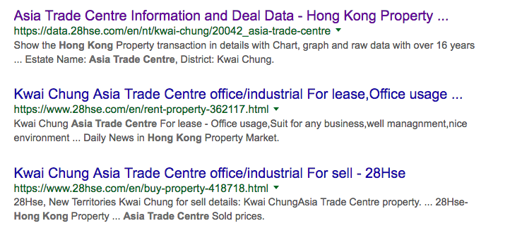 3 results from same site - 1st page google3 results from same site - 1st page google