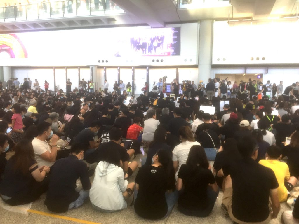 Airport Protests Hong Kong | August 2019